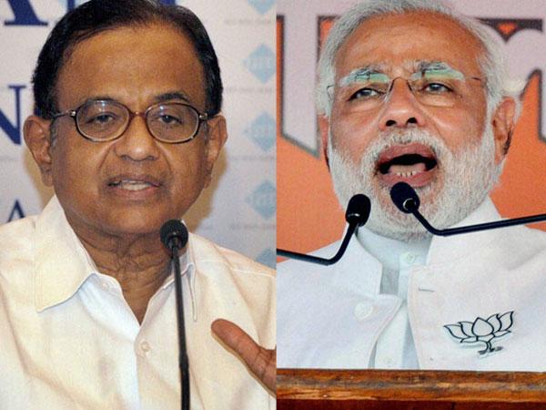 Chidambaram and Modi