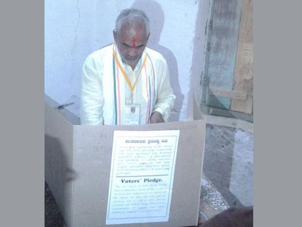 Moderate to brisk polling in Karnataka