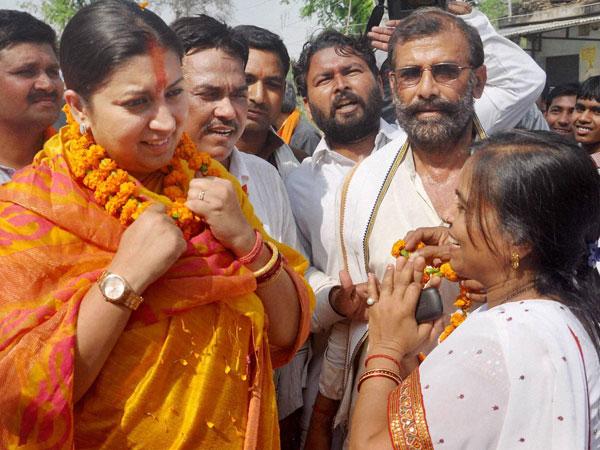 Smriti Irani hits out at Rahul