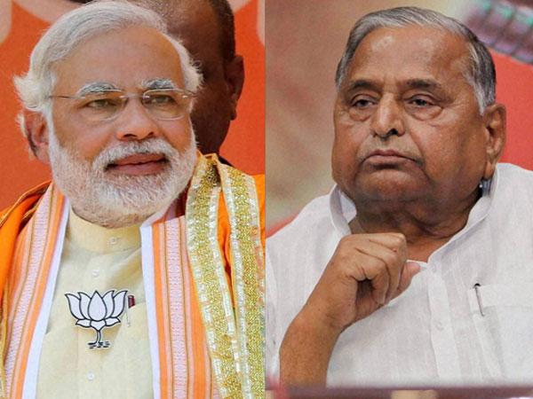 Mulayam soft on criminals: Modi