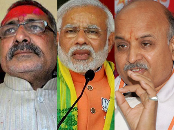 giriraj, modi and togadia
