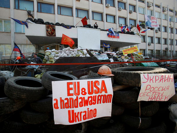 Ukraine criticises Russia for gun attack