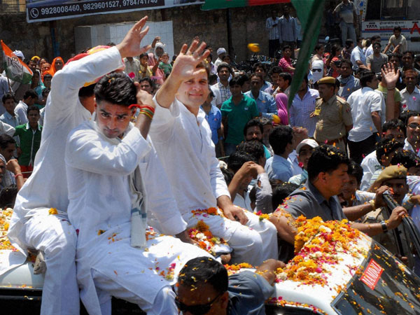 Rahul Gandhi and Rajasthan Congress Chief Sachin Pilot