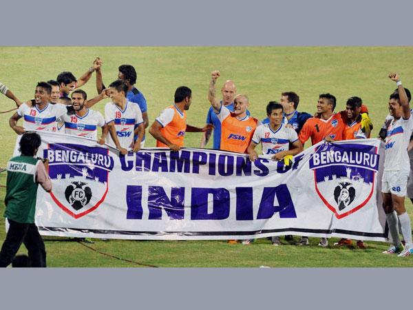 Bengaluru FC win I-League title