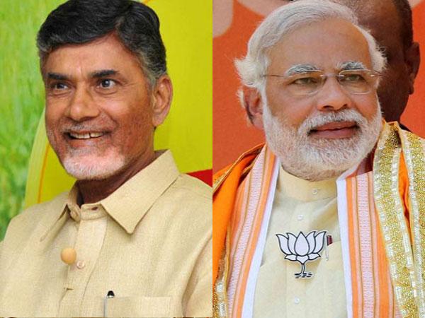 Chandrababu Naidu and Modi