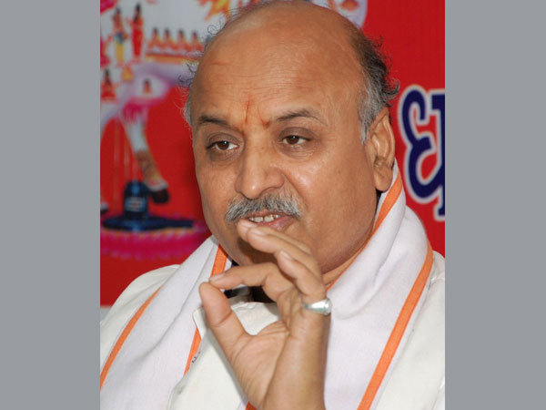 FIR lodged against Togadia, EC viewing footage of his speech