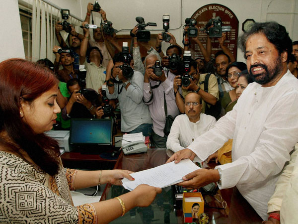 TMC Candidate Sudip Bandopadhyay files his nomination