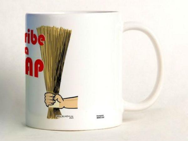 Anti- corruption Broom Mug