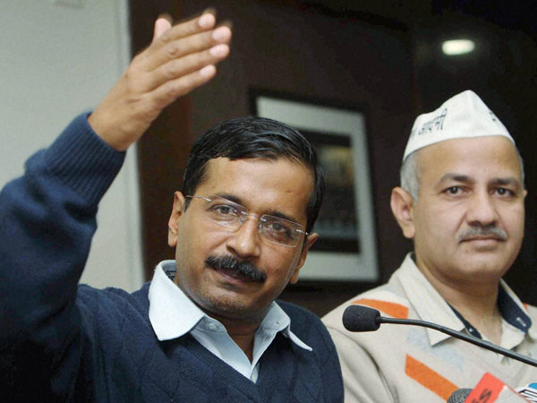 Kejriwal with Sisodia