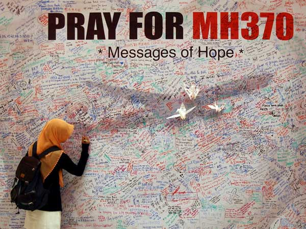 Did MH 370 land in some remote place?