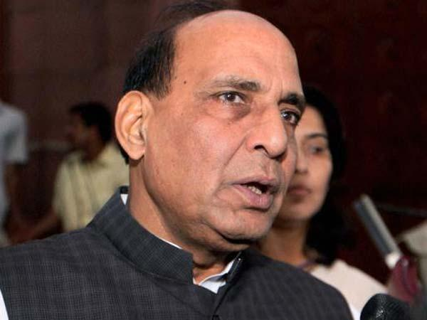 Rajnath meets N D Tiwari, seeks blessing