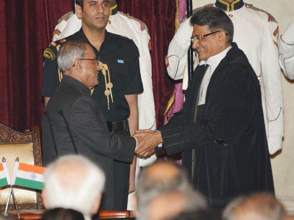 Swearing-in-Ceremony of Chief Justice of India