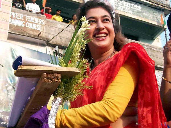 Tollywood actress and TMC candidate Satabdi Roy