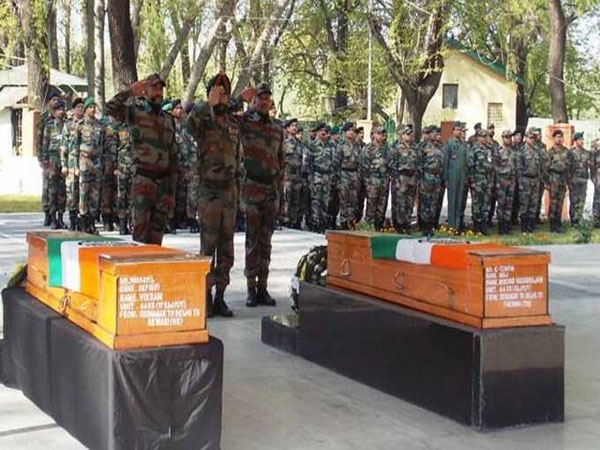 Major Mukund's funeral