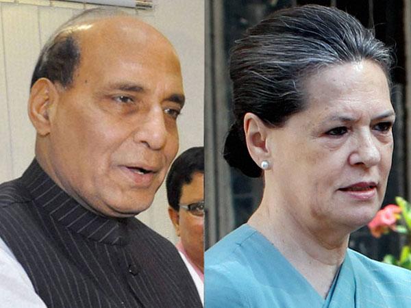Sonia, Rajnath