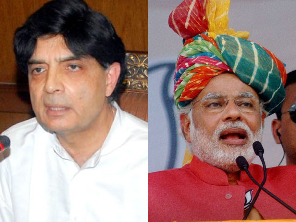Pakistani minister unites BJP and Congress