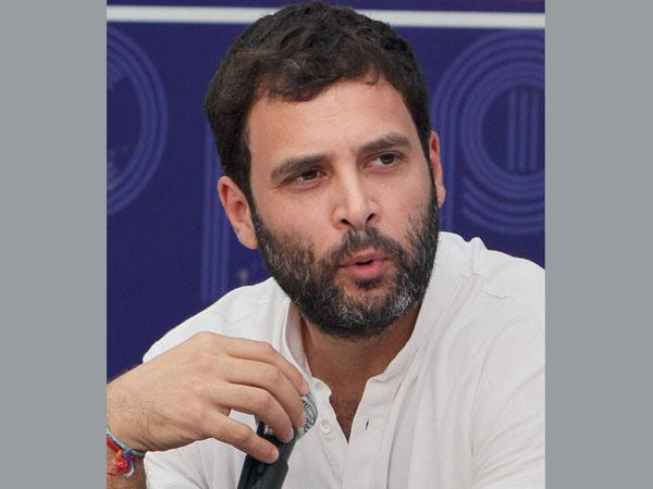 Rahul's convoy car hit by moving train, driver escapes miraculously