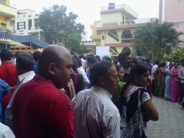 Polling underway in Telangana