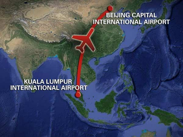 Families of MH370 passengers advised to receive information at home