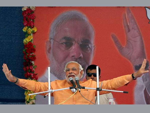 Narendra Modi to address five rallies