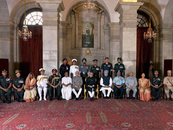 Defence Investiture Ceremony at Rashtrapati Bhavan