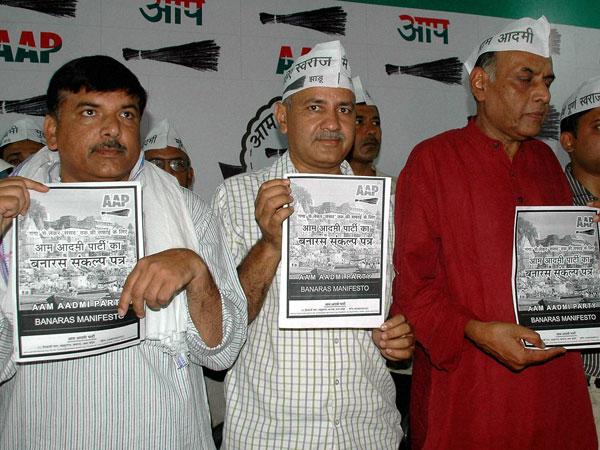 AAP releases manifesto for Varanasi
