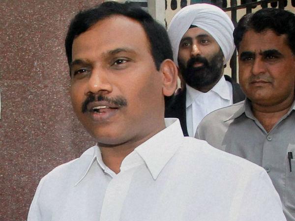 Court hands A Raja 1,700 ques