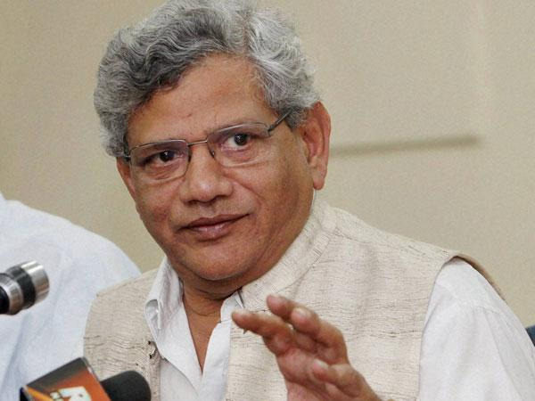 No scope for 'blackmail' by Cong, BJP: Yechury on Third Front
