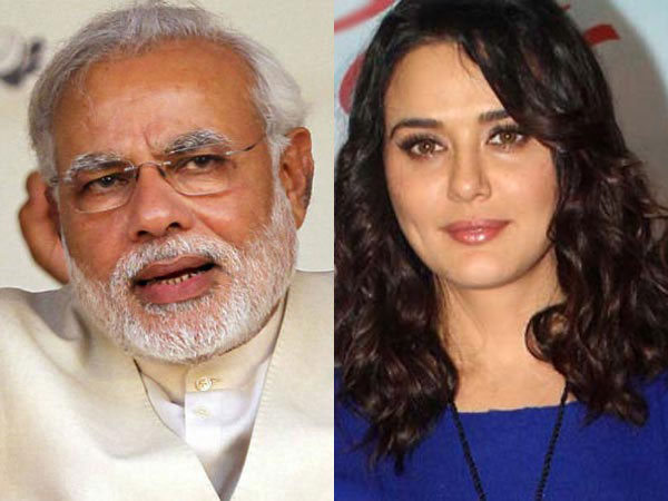 Family upset with Preity's Modi comment