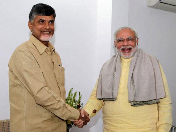 Modi and Chandrababu Naidu