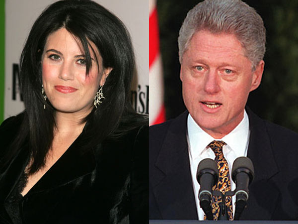 Think, monica lewinsky and bill clinton sorry, that
