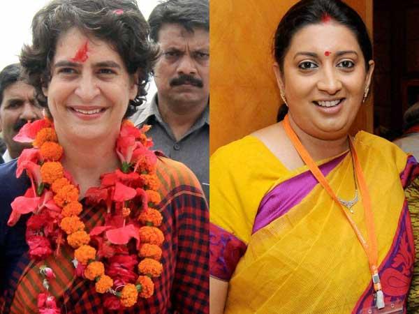Smriti locks horn with Priyanka's PA
