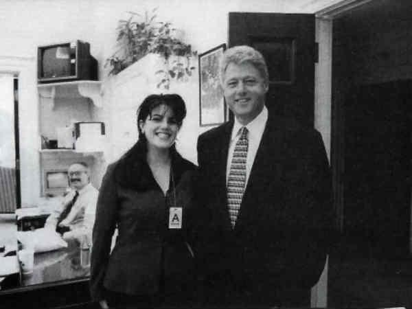 In Pics: Monica Lewinsky, Bill Clinton and scandal: Time line