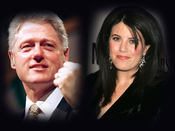 In Pics: Lewinsky- Clinton scandal