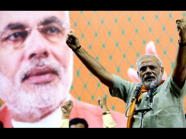 Modi accuses EC of being partial