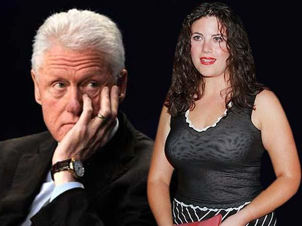 Simply monica lewinsky and bill clinton with