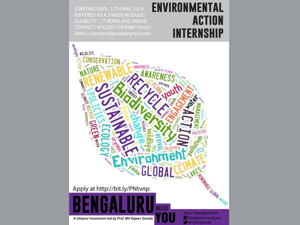Environmental Internship in Bangalore