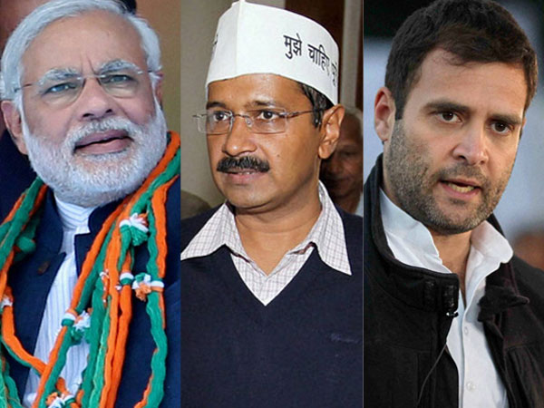 Rahul, Modi, Kejriwal in UP today