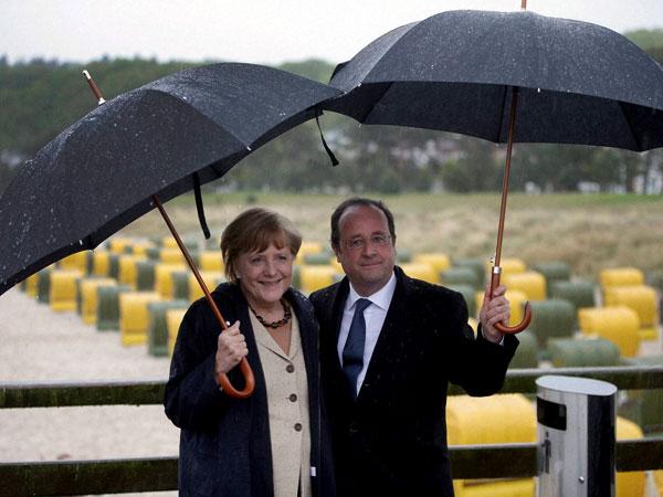 Merkel, Hollande plan referendum