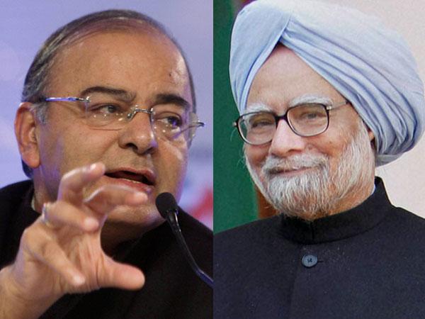 Jaitley praises Manmohan Singh