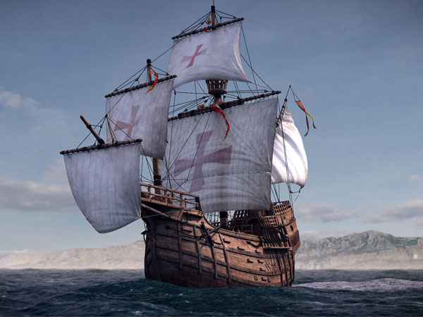 Columbus' ship discoverer hopes for help