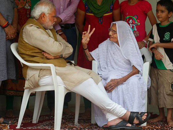 Heeraben was a pillar of support for Narendra Modi