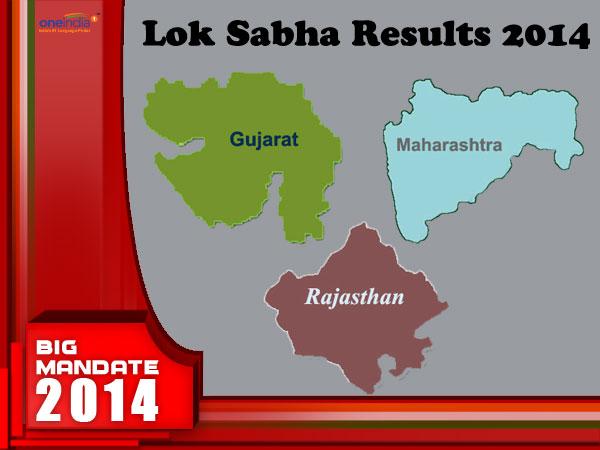 Rajasthan, Gujarat LS Results