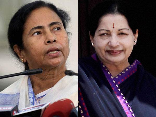 Woman power: Mamata, Jaya beats the 'BJP storm'