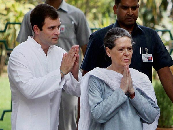 Sonia Gandhi-Rahul Gandhi