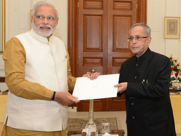 President formally appoints Modi as PM