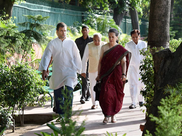 Cong refused Sonia, Rahul's resignation