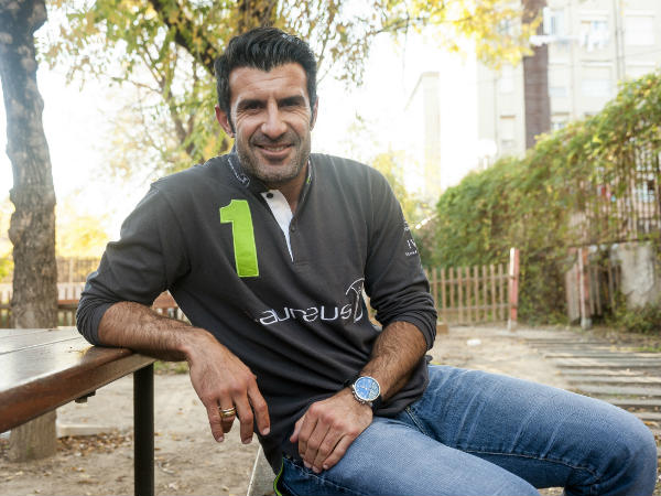 Interview: Luis Figo backs Brazil to win 2014 World Cup