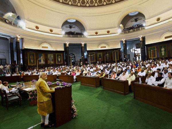 NDA allies congratulate Modi