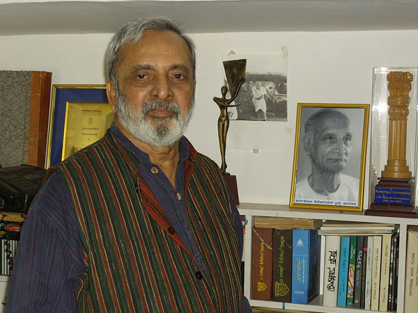 Police guard Ananthamurthy's house